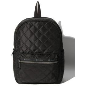 【LeSportsac:バッグ】Medium Carson Backpack/マトラッセブラック