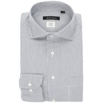 【THE SUIT COMPANY:トップス】【3BLOCK SHIRT】ホリゾンタルカラードレスシャツ ストライプ 〔EC・BASIC〕