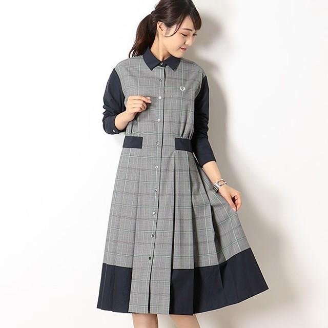 [マルイ] 【19AW】SPORTS CULTURE SHIRT DRESS/フレッドペリー(レディス)(FRED PERRY)