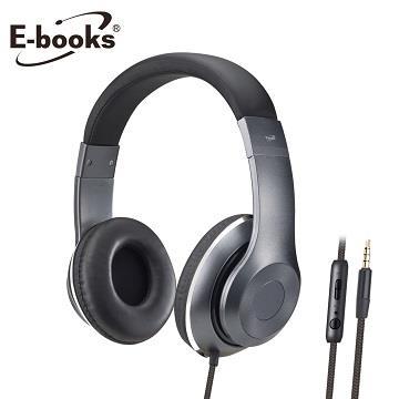 E-books S78立體聲頭戴式耳機麥克風(E-EPA168)
