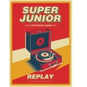 VOL.8 REPACKAGE:REPLAY【輸入盤】▼/SUPER JUNIOR[CD]【返品種別A】