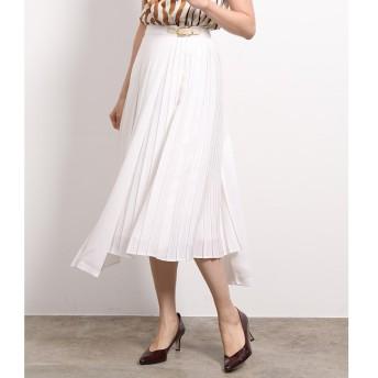 【ロペ マドモアゼル/ROPE madmoiselle】 サイドプリーツロングスカート