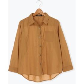 【6,000円(税込)以上のお買物で全国送料無料。】チェック柄ワイヤーシャツ LS