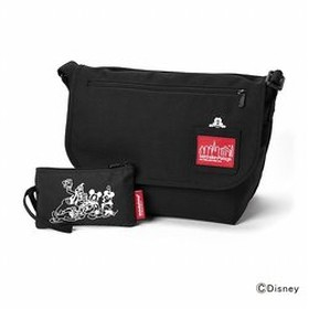 【Manhattan Portage:バッグ】Mickey Mouse Collection Casual Messenger Bag JR