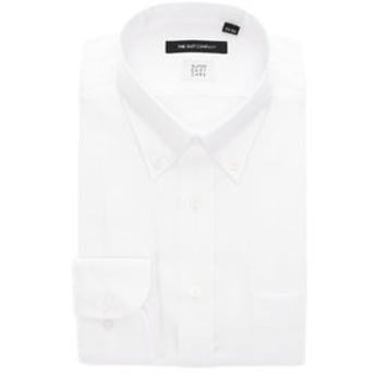 【THE SUIT COMPANY:トップス】【3BLOCK SHIRT】ボタンダウンカラードレスシャツ 織柄 〔EC・BASIC〕