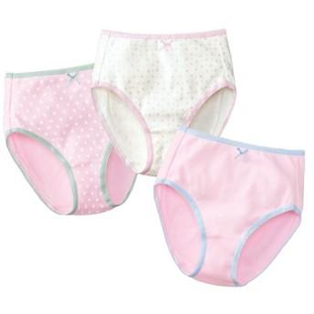 【ティーンズ】 色柄たくさん♪ショーツ(3枚組)(綿100%) - セシール ■カラー:ピンク系 ■サイズ:M,S,LL,L