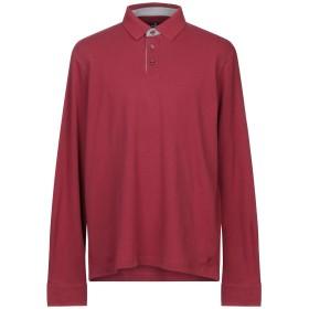 《期間限定セール開催中!》HACKETT メンズ ポロシャツ ボルドー XS コットン 92% / ポリウレタン 8%