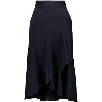 《セール開催中》REBECCA VALLANCE レディース 7分丈スカート ダークブルー 8 ポリエステル 100%