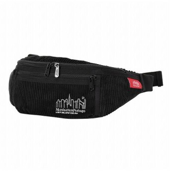 マンハッタン ポーテージ Brisbane Moss Fabric Alleycat Waist Bag ユニセックス Black XS 【Manhattan Portage】