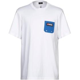 《セール開催中》DIESEL メンズ T シャツ ホワイト S コットン 100%