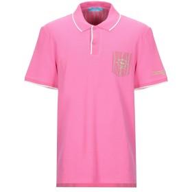 《セール開催中》HARMONT & BLAINE メンズ ポロシャツ ピンク 3XL コットン 100%
