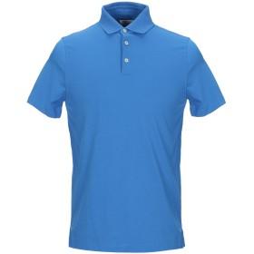 《セール開催中》HERITAGE メンズ ポロシャツ ブライトブルー 48 コットン 95% / ポリウレタン 5%