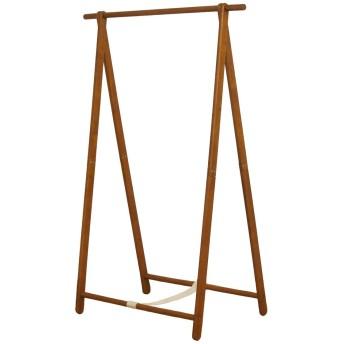 木製シングルハンガーラック 幅101x奥行55x高さ147.5cm HM-A1010