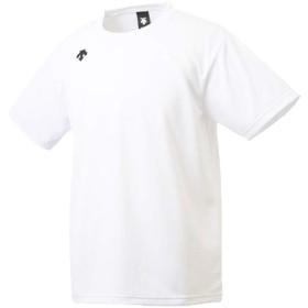 デサント Tシャツ メンズ 上 DESCENTE 半袖 ワンポイント 無地 Mサイズ