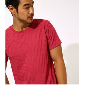 【AZUL by moussy:トップス】【MEN'S】SHADOW STARS & STRIPES T-SHIRT