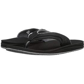 [ニューバランス] メンズサンダル・靴 Purealign Recharge Thong Black/Grey (26cm) D - Medium [並行輸入品]
