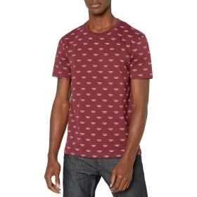 (ディーゼル) DIESEL メンズ Tシャツ Dモチーフ 00CG460TAWW L ボルドー 42M