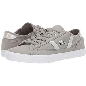[ラコステ] レディーススニーカー・靴・シューズ Sideline 219 1 CFA Light Grey/White (23.5cm) M [並行輸入品]