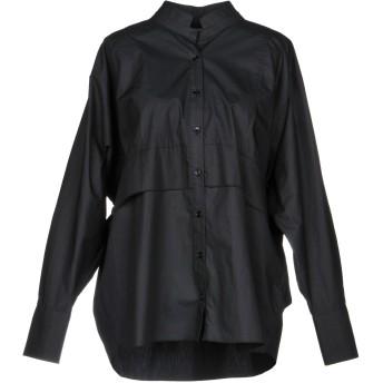 《セール開催中》JIJIL レディース シャツ ブラック 40 コットン 100%