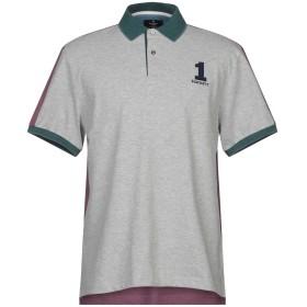 《期間限定セール開催中!》HACKETT メンズ ポロシャツ グレー L コットン 92% / ポリウレタン 8%
