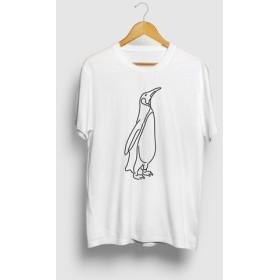ペンギン 動物イラストTシャツ