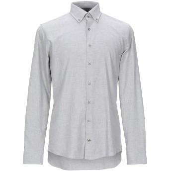 《セール開催中》JOOP! メンズ シャツ ライトグレー 44 コットン 100%