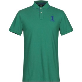 《セール開催中》HACKETT メンズ ポロシャツ グリーン M コットン 100%