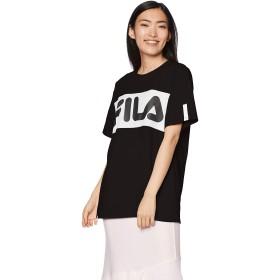 [フィラ] Tシャツ ビッグシルエットフロント切り替えTシャツ レディース 419600 BK 日本 L (日本サイズL相当) [並行輸入品]