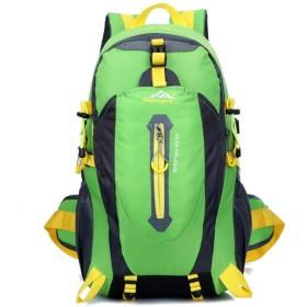 ディバッグ 登山 リュック サック 防水 軽量 耐久性 旅行 アウトドア 登山用パック ザック バックパック レディース メンズ (グリーン)
