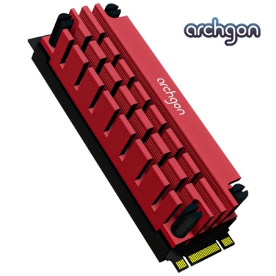 archgon亞齊慷 M.2 2280 SSD 散熱片組 HS-1110-R