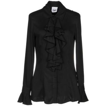 《セール開催中》MY TWIN TWINSET レディース シャツ ブラック XS レーヨン 100%
