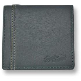 【全3色】 CROCODILE クロコダイル コインケース 小銭入れ 財布(81cr67) (グリーン)