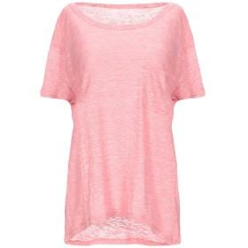 《期間限定セール開催中!》MAJESTIC FILATURES レディース T シャツ ピンク 2 麻 70% / シルク 30%