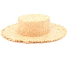 Daily russet(デイリーラシット)/【Casselini(キャセリーニ)】ラフィアカンカン帽