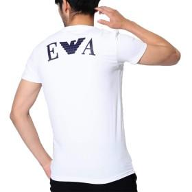 (エンポリオアルマーニ) EMPORIO ARMANI Tシャツ メンズ 半袖 Vネック ロゴ ブランド 無地 イーグル ワンポイント コットン 綿 男性 下着 2L 3L XL XXL おしゃれ 記念日 [並行輸入品]