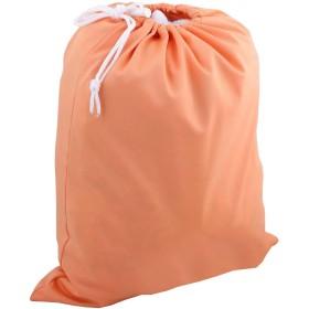 KINDOYO 防水 シュリンクロープ ポケット 洗える 再利用可能 赤ちゃんの布 おむつバッグ (オレンジ)