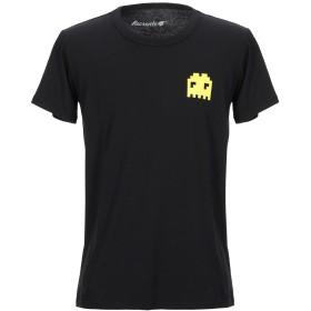 《期間限定セール開催中!》RECREATE メンズ T シャツ ブラック S コットン 100%