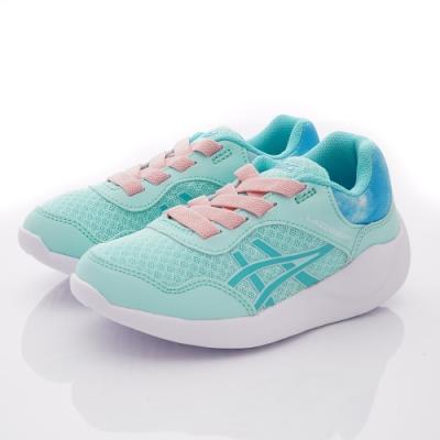 asics競速童鞋 LAZERBEAM運動款-034-400藍粉(中大童段)