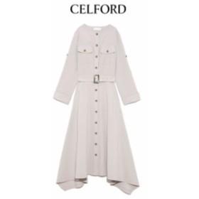 クーポン対象 CELFORD セルフォード 通販 シャツワンピース cwfo194099