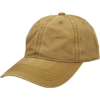 Faleto(JP) キャップ 帽子 野球帽 無地 コットン シンプル メンズ レディース 野球用 ゴルフ用 カーブキャップ UVカット 調節可能 水洗い (イエロー)