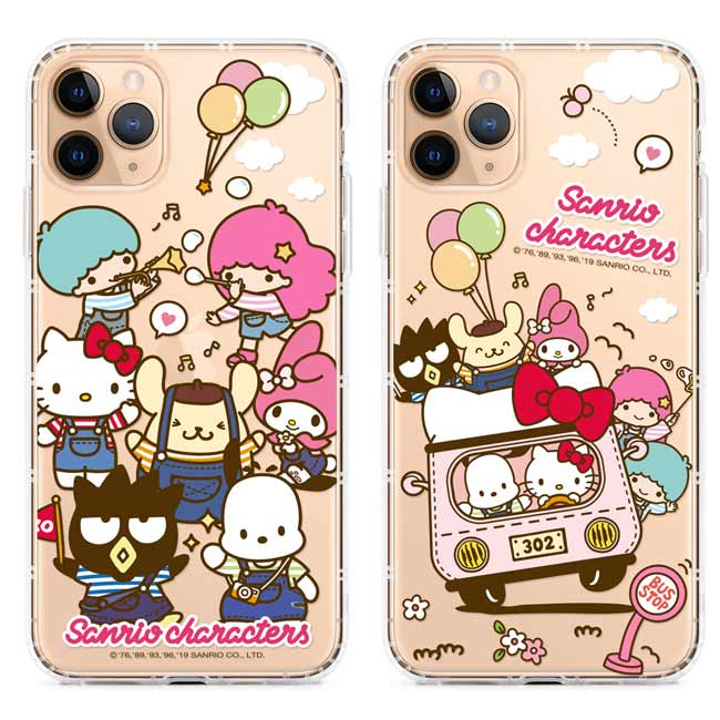 GARMMA Hello Kitty iPhone 11 Pro Max  iPhone 11 Pro IP11 保護軟殼-吊帶褲系列