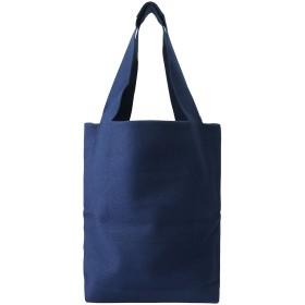 PLAIN PEOPLE プレインピープル 【SENNES】フェルトトートバッグ ブルー