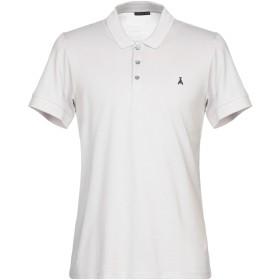 《期間限定セール開催中!》PATRIZIA PEPE メンズ ポロシャツ ライトグレー S コットン 100%