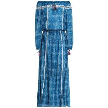 《セール開催中》LEMLEM レディース ロングワンピース&ドレス ブルー XS コットン 100%