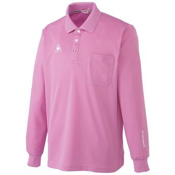 ルコック(le coq) UZL8029 長袖ポロシャツ Unisex LL 9.ピンク