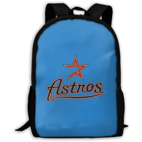 Houston Astros 1 双肩バッグ 男女子高校生 バック 多機能 バックパック 大容量 リュックサック 軽量 ナップザック デイパック ショルダーバッグ 中学生かばん リュック 防水 通勤 通学 大容量リュックサック 【 アウトレット品 】