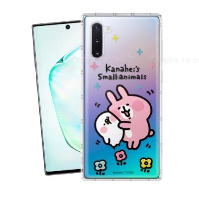 卡娜赫拉 授權 Samsung Galaxy Note10 透明彩繪空壓手機殼(蹭P助)