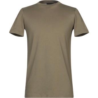 《セール開催中》NUMERO 00 メンズ T シャツ ミリタリーグリーン XS コットン 100%