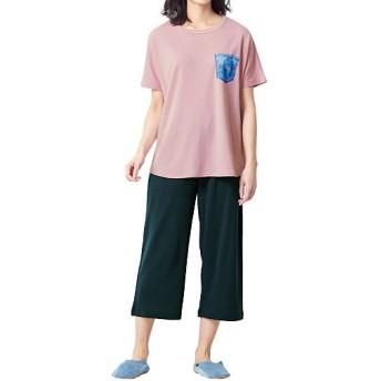 50%OFF【レディース】 洗濯ポーチ付き お出かけパジャマ - セシール ■カラー:ピンク ■サイズ:S