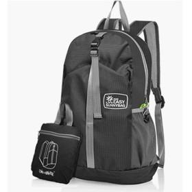 NATUZORA リュックサック 軽量 折りたたみ式バッグ 撥水加工バッグパック バッグパック 旅行 登山